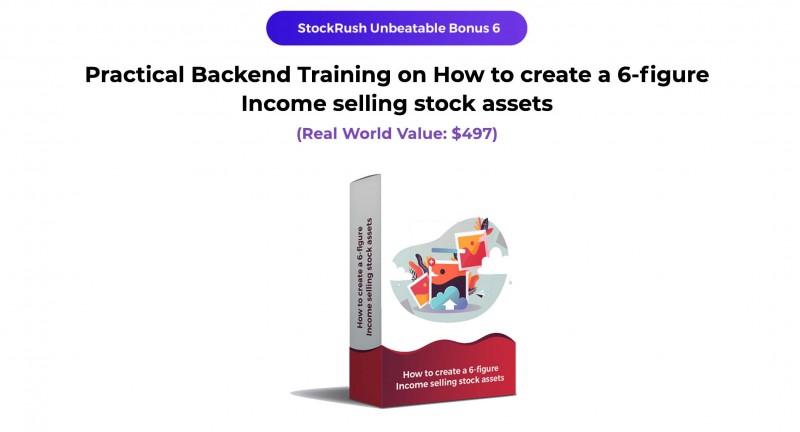 stockrush bonus 6