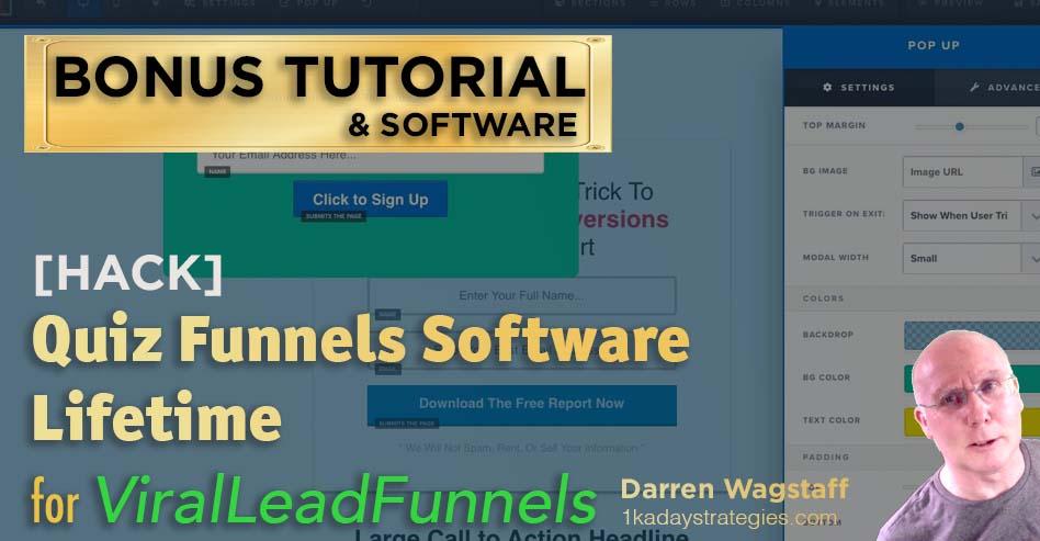 Viral Lead Funnels Bonus Quiz Software