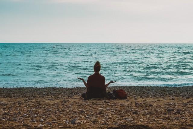 Stay balance through meditation or yoga to regain clarity of mind.