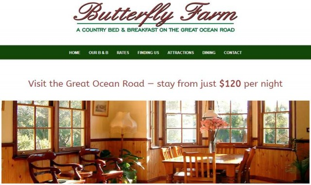 Butterfly Farm Bed & Breakfast""