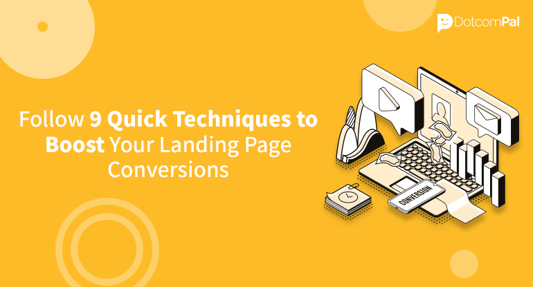 techniques to boost landing page conversions