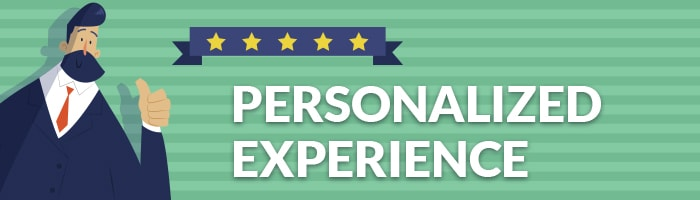 personalized experience in customer engagement strategies