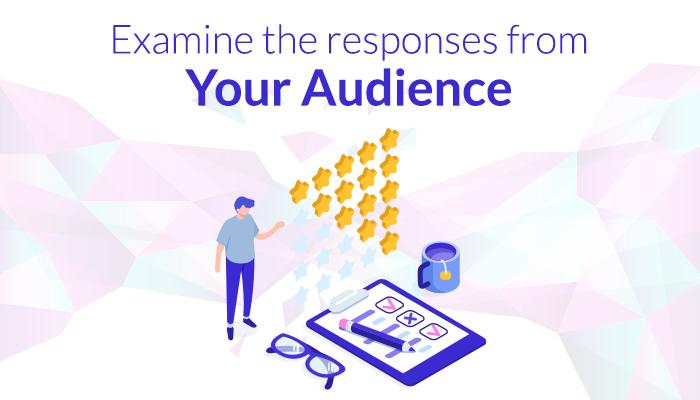 Examine the response on social media