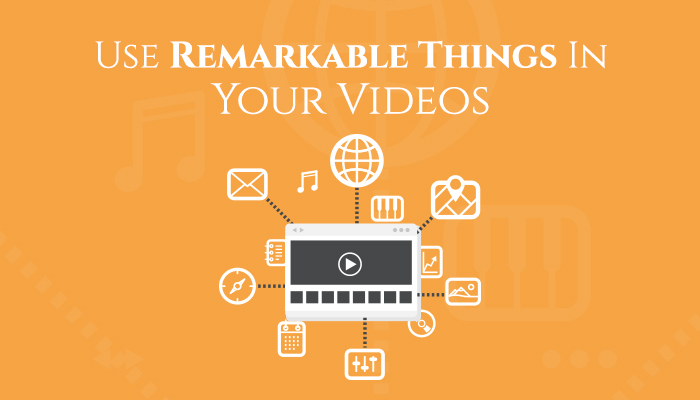 Use remarkable things
