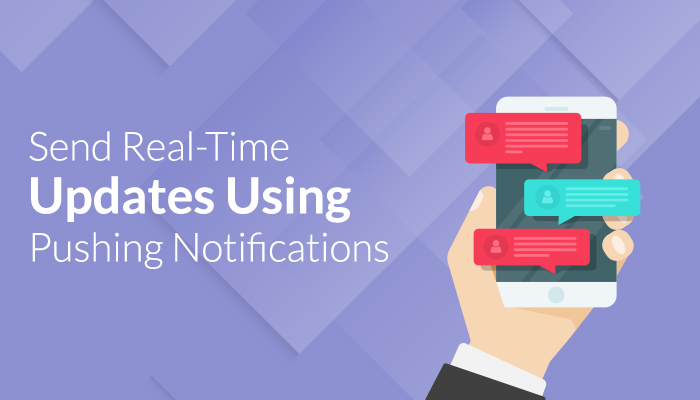 Send real time updates
