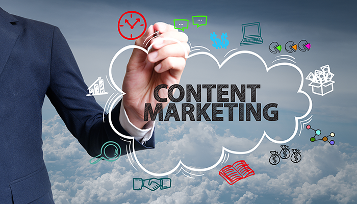 Leverage content marketing
