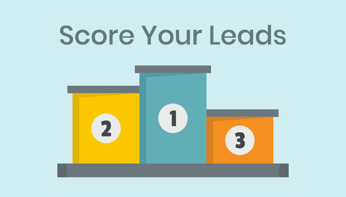 Apply lead scoring method