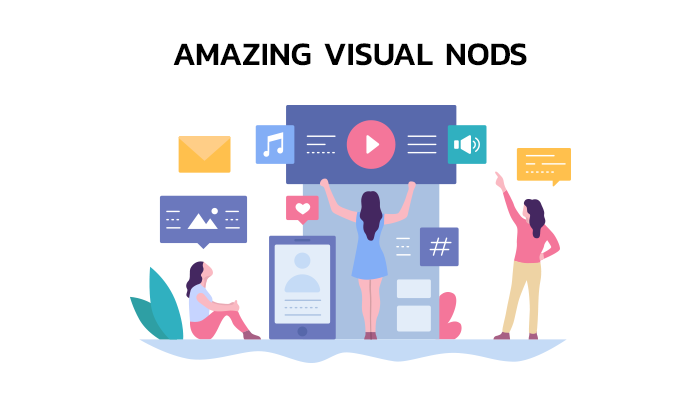 Use amazing visual nods on your landing pages