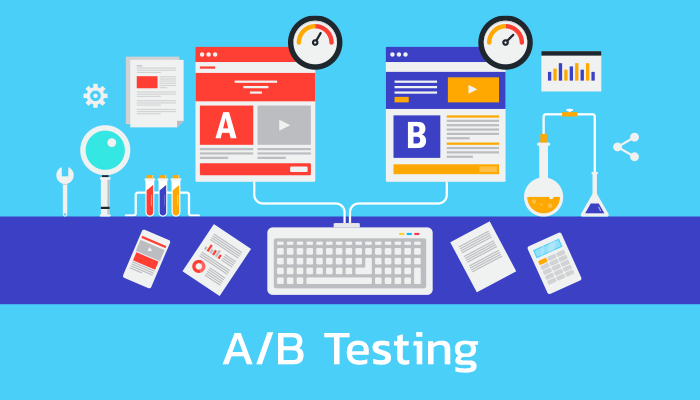 Do A/B testing on your landing pages