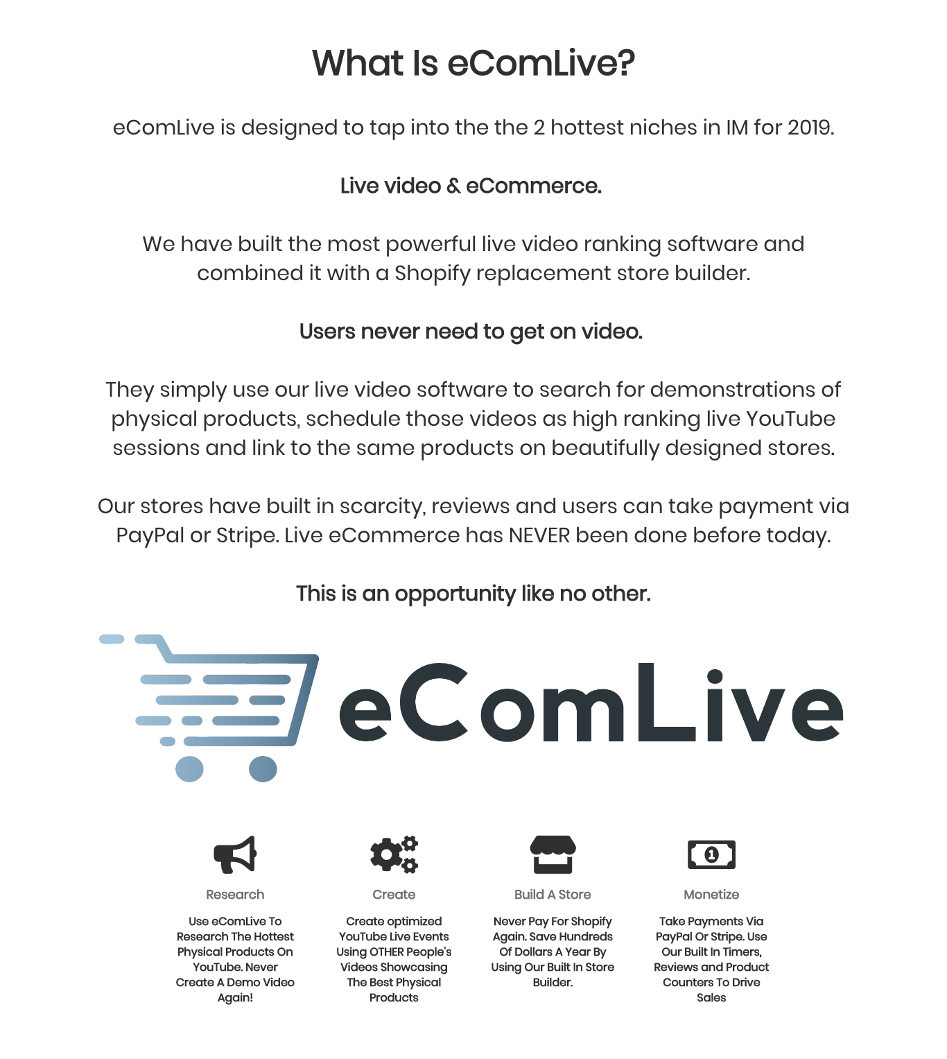Ecom Live Review