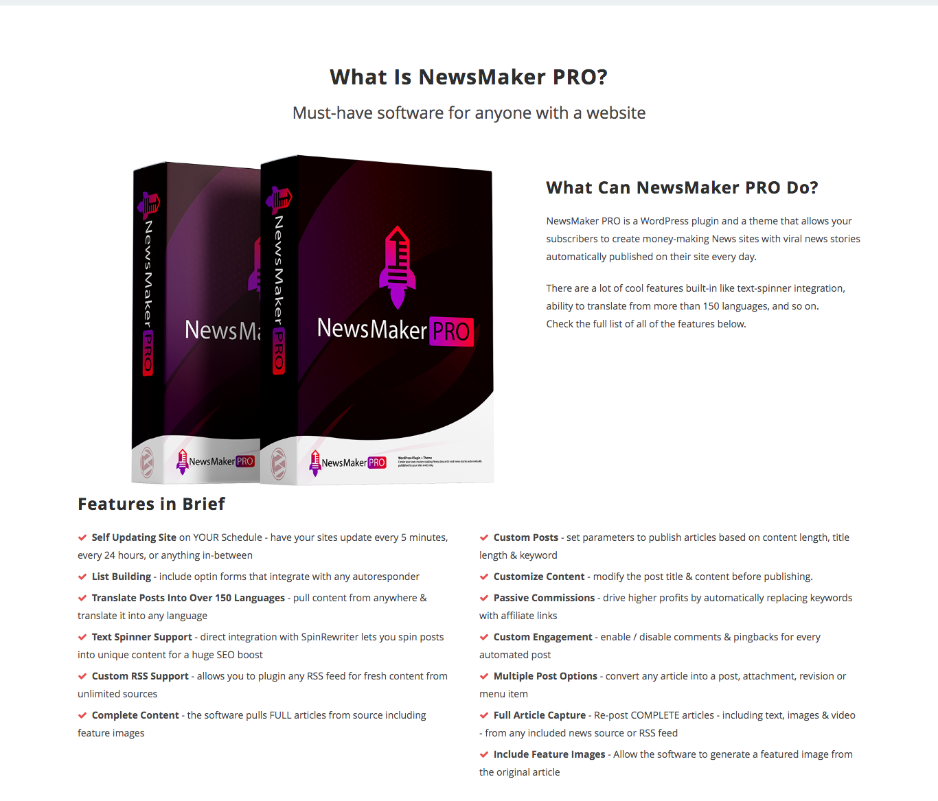 NewsMaker Pro Review