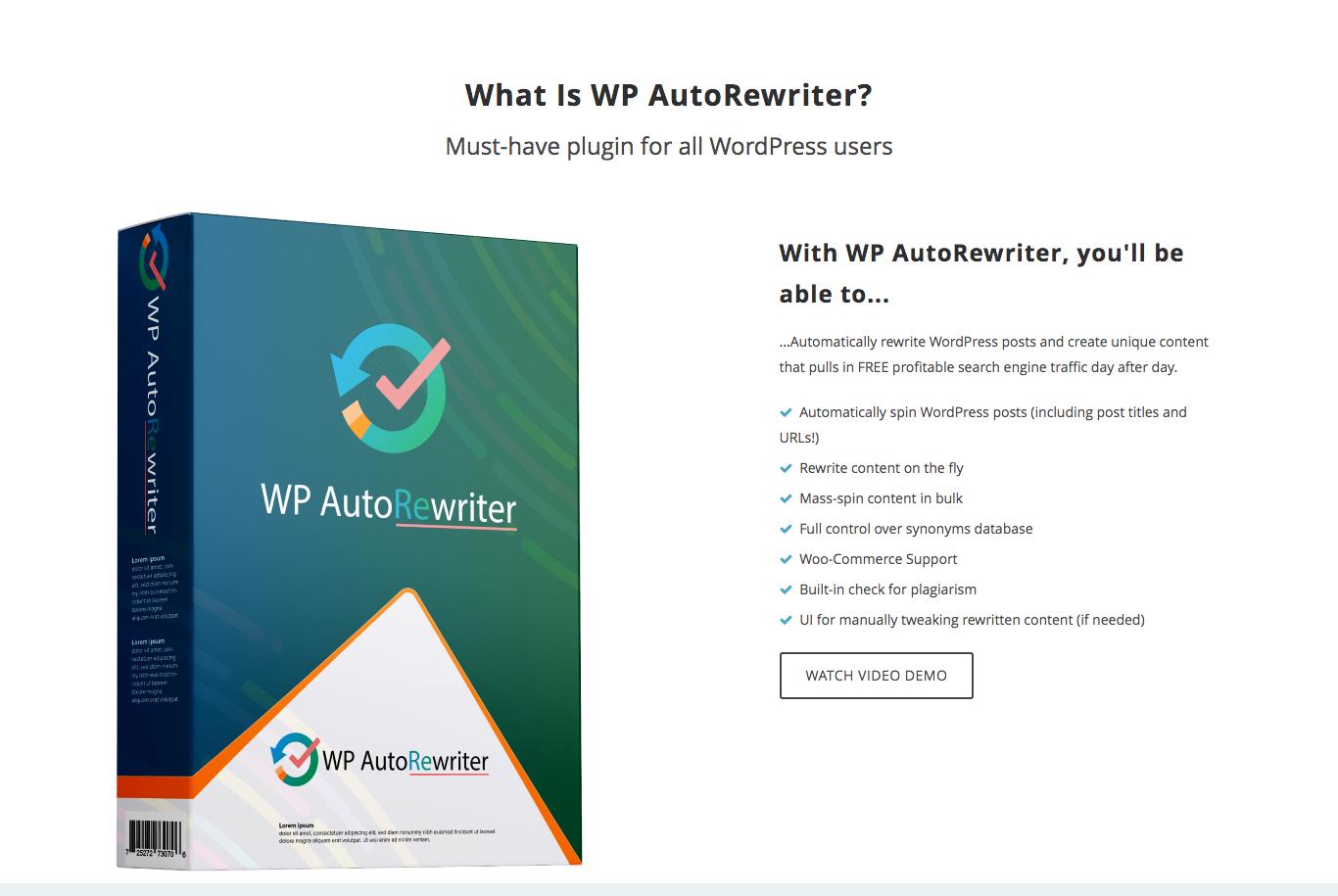 WP AutoRewriter