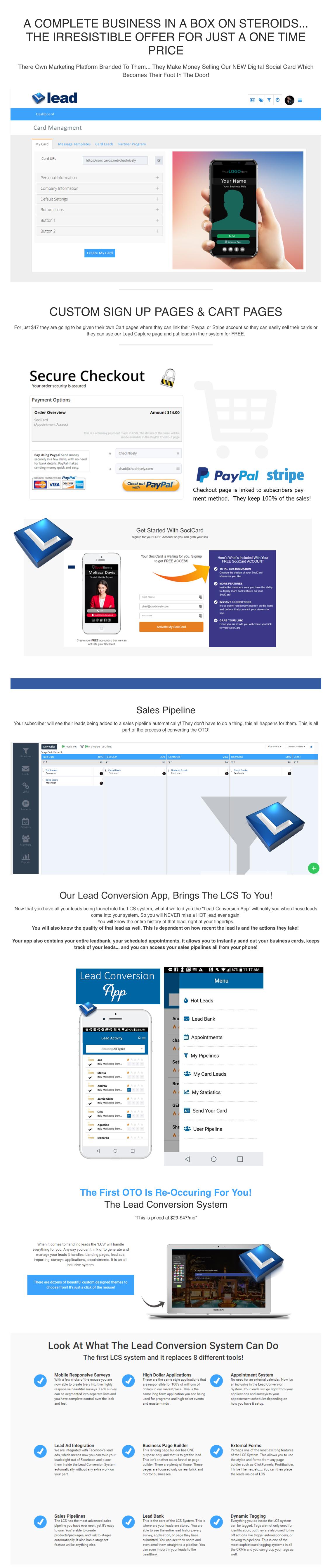 Lead App Review