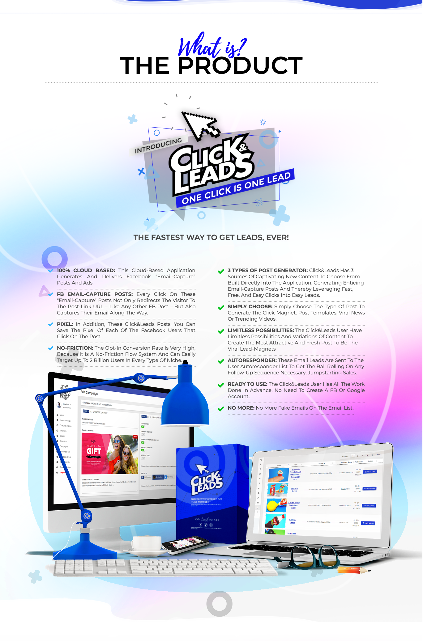 Click & Leads Review
